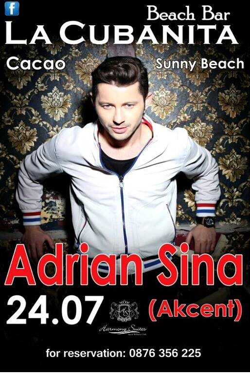 "lead singer of Romanian group ""Akcent"""