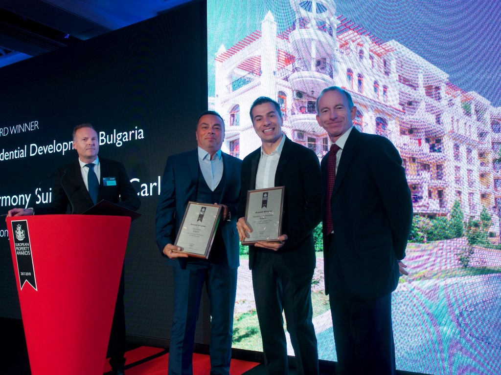 Harmony Suites Monte Carlo with the award of the most prestigious competition at the Europe.
