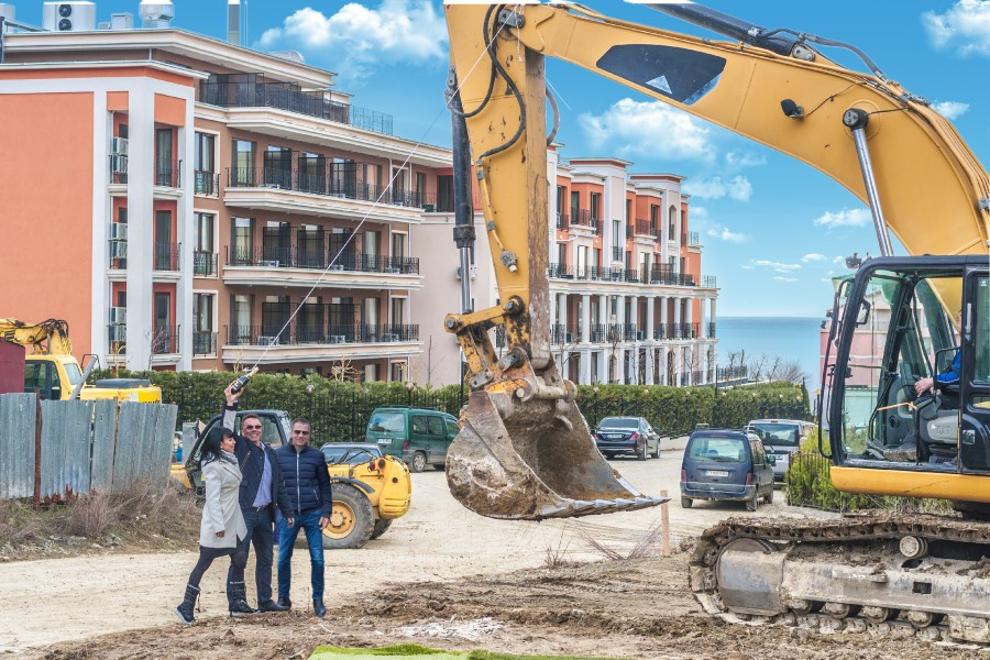 Our newest project in Saint Vlas - 200m to the sea!
